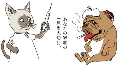 宇都宮市で地域に根ざした獣医療を行っています。